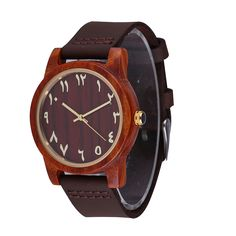 Find More Women's Watches Information about Wood Arabian Watches, Genuine Leather Soft Bands Arabic Numeral Watch, Gold Index Montre Arabe,High Quality arabic numeral watches,China arabic numeral Suppliers, Cheap watch watch from Perfect time. Perfect life on Aliexpress.com