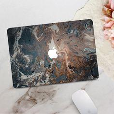 Marble Macbook Case, Marble Case, Macbook Pro Case, Macbook Air Wallpaper, Mac Stickers, Macbook Air 13 Inch, Macbook Skin, Smudging, Oil