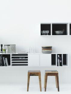 swedish storage system no5 | styling lotta agaton,