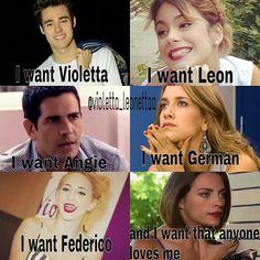 #Violetta That makes me sad! :((