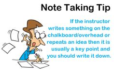 """Note Taking Tip: Make your notes as brief as possible. """"Never use a sentence when you can use a phrase, or a phrase when you can use a word"""" (Berkeley). Study Habits, Study Tips, High School Organization, Note Taking Tips, School Notes, Law School, Test Preparation, Learn Faster, Write It Down"""