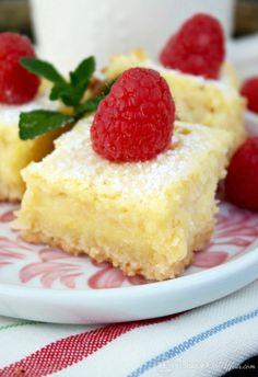 Lemon Bars {Low Carb & Gluten Free}Really nice recipes.  Mein Blog: Alles rund um die Themen Genuss & Geschmack  Kochen Backen Braten Vorspeisen Hauptgerichte und Desserts