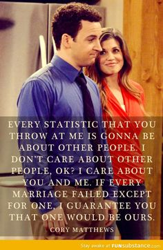Can I have a boy meets world themed wedding? Would that be weird...