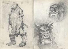 Petar Meseldzija Art - Sketch book 2