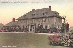 'Old Trees', the Goodhue Livingston estate designed by Trowbridge & Livingston c. 1911.