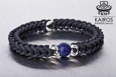 Labradorit pearl bracelet with silver elements. Fashion designer jewelry by KAIROS. Designer Jewelry, Jewelry Design, Pearl Bracelets, Pearls, Silver, Fashion Design, Men, Collection, Armband