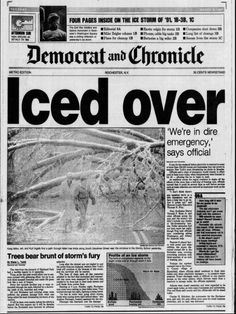 Ice Storm of Rochester, NY. I was off for a full week during my Freshman year at Greece Olympia because of this. Rochester Homes, Rochester New York, Ice Storm, I Love Ny, Upstate New York, Lake George, Family Memories, Live In The Now, Great Lakes