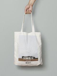 Tote Bag Born to be wild par VoyagesADeux sur Etsy