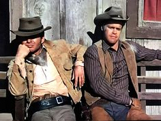 Gary Clarke and Doug McClure in The Virginian Old Hollywood Actors, Doug Mcclure, James Drury, Gary Clark, The Virginian, Tv Westerns, Old Tv, Cowboys, Tv Series