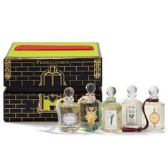 Women's Fragrance Collection. The Penhaligon tradition in miniature, this set contains tiny bottles of the company's favorite women's fragrances. $50.00