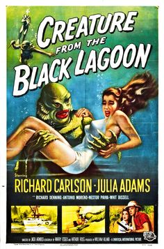 Universal Classic Horror film posters (1920s - 1950s)