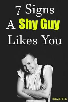 How to make a shy guy like you