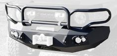 Fab Fours FJ07-A1750-1 Winch Bumper for Toyota FJ '07-'10 FJ07-A1750-1 Enhances Visual Impact While Remaining Lightweight. Tapered Sides And Bottom Slides Off Obstacles. 1in. D-Ring Mou…