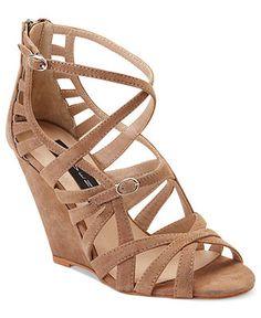 STEVEN by Steve Madden Shoes, Stellir Wedge Sandals - Shoes - Macy's