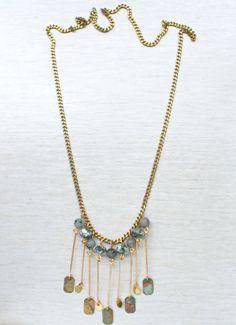 Novalie Necklace  Undra Collection by MLKANHNY on Etsy, $76.00