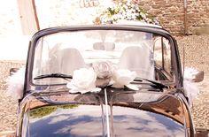 Pivoine décoration voiture 7€ l'une