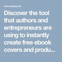 Discover the tool that authors and entrepreneurs are using to instantly create free ebook covers and product mock-ups More people use our free ebook creator than any other on the internet! Use the same software as the pros! To gain maximum interest and impact when selling ebooks and products or even when offering a free […]