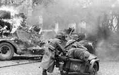 """1.SS Panzer División Leibstandarte """" Adolf Hitler """", Rusia, 1941."""