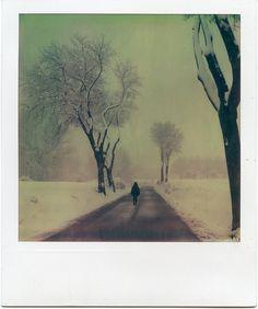 Neu a Folgueroles #2 - Polaroid by Francesc Galí, via Flickr