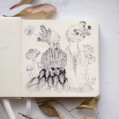 Photo by Ulla Thynell >. Pen Illustration, Tove Jansson, Art Sketches, Moose Art, Doodles, Drawing, Animals, Instagram, Inspiring Art
