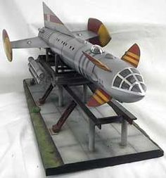 Fireball 16 Inch Model Kit with Launch Ramp Retro Toys, Vintage Toys, Thunderbirds Are Go, Retro Rocket, Sci Fi Models, Hobby Kits, Model Hobbies, Hobby Photography, Retro Futurism