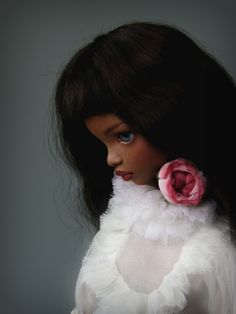 Caramel porcelain doll by Irina Lumiere