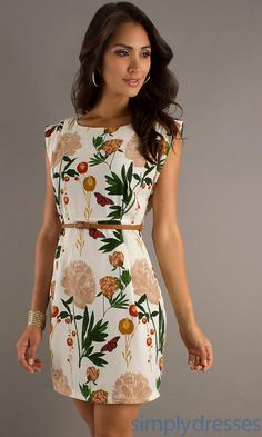Shop semi-formal dresses at Simply Dresses. Short dresses for semi-formal events, cocktail dresses, party dresses, homecoming dresses, and semi-formal attire for parties. Club Dresses, Casual Dresses, Short Sleeve Dresses, Summer Dresses, Formal Dresses, Look Office, Lace Dress Styles, Sunday Outfits, Cheap Party Dresses