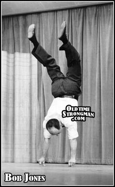 Bob Jones | Oldtime Strongman