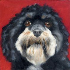 Love dog art