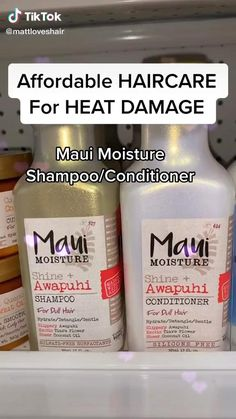Maui Hair Products, Products For Damaged Hair, Best Natural Hair Products, Natural Hair Tips, Natural Hair Styles, Curly Hair Products, Beauty Products, Lush Products, Body Products