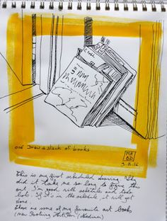 006 - Draw a stack of books Stack Of Books, Urban Sketching, My Passion, Of My Life, Objects, Draw, Blog, Board, My Crush