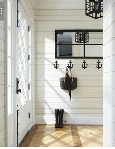 Shiplap walls/beadboard ceiling