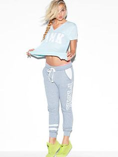 Shop PINK apparel for cute tops, tees, hoodies, leggings, joggers and more!