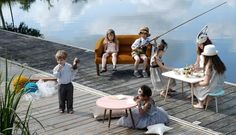 Tables et tabourets enfants - Jungle by Jungle #table #tabouret #chaise #chambreenfant #desk #stool #kids #rentree2015 #backtoschool #junglebyjungle #mylovelyballerine