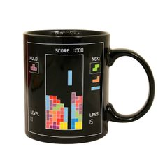 Tetris Heat Change Mug Set Of 2 by Paladone Products Ltd | Fab.com