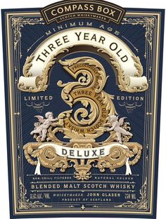 """A less subtle """"fuck you"""" to the whisky industry - Compass Box 3 Year Old #scotch…"""