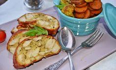 Troll a konyhámban: Csirkemell őzgerincben és fűszeres tepsis zöldség - paleo