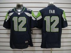 NFL Jerseys Sale - Seattle Seahawks 24# Marshawn Lynch blue Jersey | Cheap NFL ...
