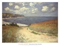 Browse through images in Bridgeman Images' Monet collection. A selection of works by the Impressionist painter Claude Monet available as fine art prints. Monet Paintings, Landscape Paintings, Claude Monet Pinturas, Art Triste, Pierre Auguste Renoir, Impressionist Paintings, Land Scape, Framed Art Prints, Art Museum