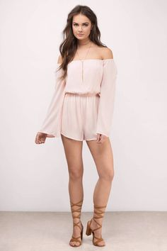 Gem Off Shoulder Romper Dusty Pink Bridesmaid Dresses, Off Shoulder Romper, Cute Rompers, Floral Romper, Fashion 2020, Fashion Outfits, Fashion Trends, Summer Outfits, 12th Birthday