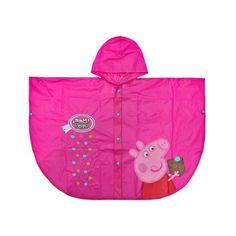 El poncho debido a su material repelente al agua es perfecto para mantener a las niñas protegidos en los días de lluvia, protegiendo cuerpo y cabeza.