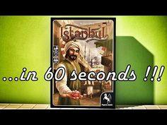 Istanbul - Brettspiel Vorstellung in 60 Sekunden - Board Game Roundup in 60s - YouTube