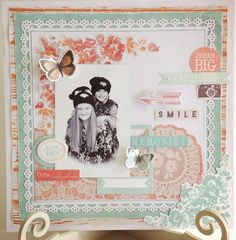 The Craftz Boutique: Kaiser Craft 'Dream Big' Layout 2 Scrapbook Designs, Scrapbooking Layouts, Page Layout, Book Layouts, Something To Remember, Layout Inspiration, Paper Background, Happy Day, Dream Big