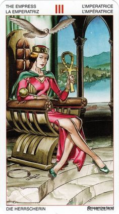 III. The Empress - Initiatory Tarot of the Golden Dawn by Giordano Berti, Patrizio Evangelisti