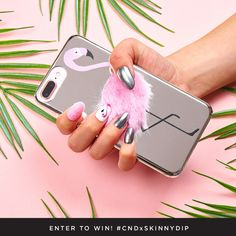 Enter your nail design on Instagram for a chance to win a custom designed phone case from CND and SKINNYDIP LONDON! CLICK FOR MORE DETAILS! xo