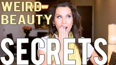 3 WEIRD BEAUTY SECRETS THAT WORK!!! These are some really unique beauty secrets that I didnt knew.. I was surprised :)