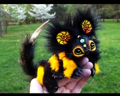 --SOLD--Poseable Baby Bumble Dragon! by Wood-Splitter-Lee.deviantart.com on @deviantART