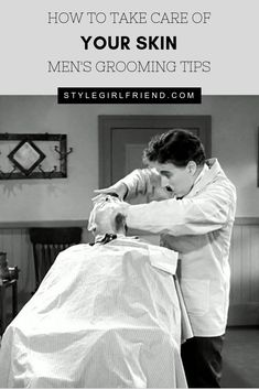 Make sure your skin is on point this winter, with a primer on cold weather grooming from the team at Style Girlfriend | guys grooming, guys skincare, mens grooming, mens skincare, men's skincare routine, mens skincare products, men's skin care routine, mens skin care, guys skincare routine, mens hairstyles