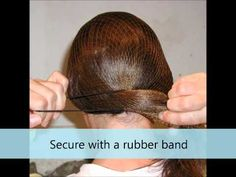 The easiest way to put your hair up neatly in your helmet.  We carry 3 different kinds of hairnets!
