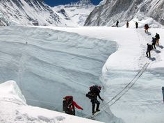 What's your mission?          (From International Mountain Guides website, approaching Everest from the south side.)